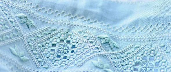 北欧风的刺绣,温柔的季节 | 猫のしっぽと針仕事