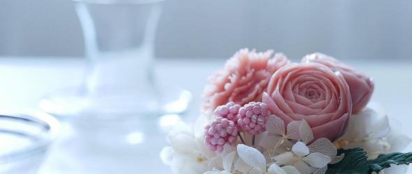 泰国香皂雕花,花卉的另外一种美丽呈现 |@yuri.indigo