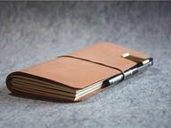 植鞣皮 复古 文艺 小清新 旅行 笔记本