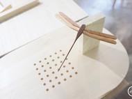 木质重力平衡蜻蜓