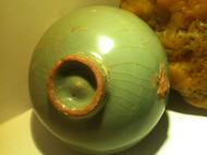 新到手的品茶宝贝··粉青朱砂胎敞口梅花小杯·····