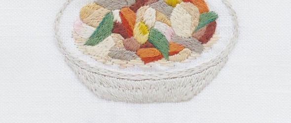 华丽的微妙的清新刺绣 | Mikako Kondo