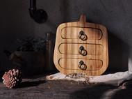 原木复古抽屉盒