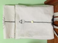 手绘包双肩帆布背包书包彩绘荷花方盒型带盖包文艺中国风书包