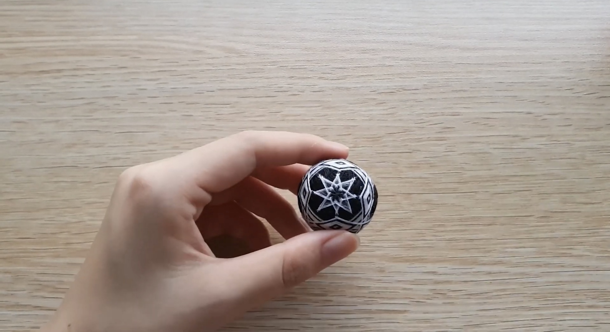 DIY手鞠球编织教程:八分球编织方法(下)