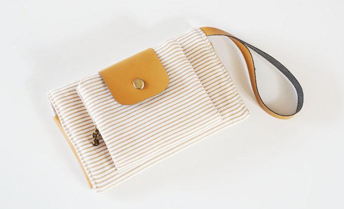 【BOoの物语】.木.ZAKKA.生日礼物.多功能手机包手拿包钱包零钱包
