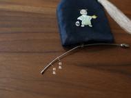花暖 原创设计 手工刺绣 十二生肖钥匙包民族风配饰中国风礼物 猪