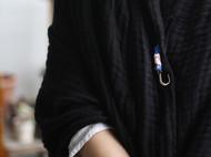 花暖 原创设计 手工刺绣胸针中式民族风别针 中国风礼物 一方锦绣
