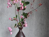 茶觉)装满春天花器