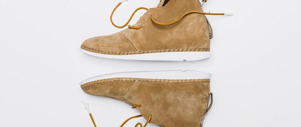 洛杉矶独立鞋履品牌 No.One 轻便帅气的Alpha沙漠靴