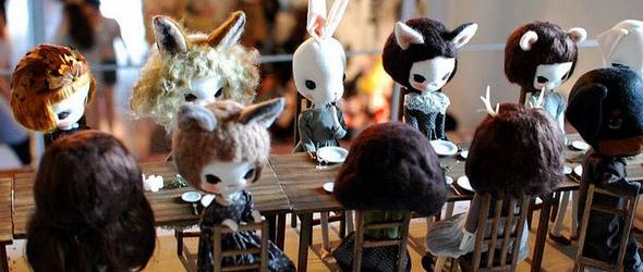 手工玩偶艺术家Mei Ying Yeo和TA的玩偶世界