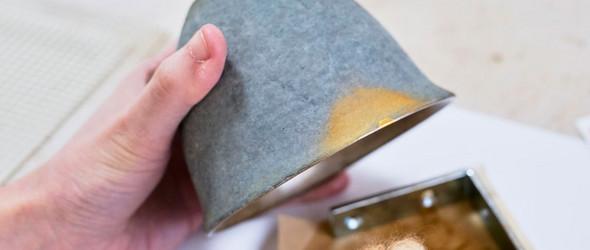 金缮修复陶器器物过程欣赏 | 河井菜摘