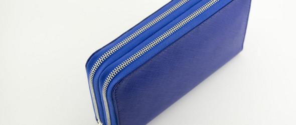 双拉链长款 Saffiano手包(钱夹)手工制作过程