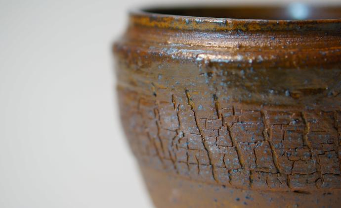 《蓝莓》 陶罐 物朴手作