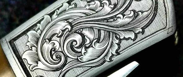 雕刻师里克·西蒙斯(Rick W. Simmons)金雕作品集