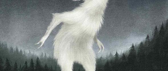 插画师Maria Ivanova的暗黑系森林插画