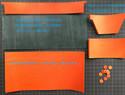 超详细六卡位皮革短夹制作手工制作教程与过程记录