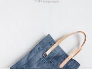 """""""Jeans""""托特包.C款"""