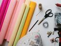 diy手工纸花教程:制作超大型的牡丹花