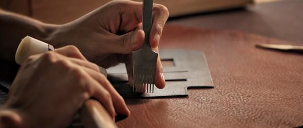 手工皮具 // 工具安利 —— 从美学角度讲讲手缝法斩