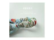 Blue Cloud手工布艺发带-中国风花卉