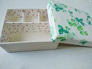 松山墩子水洗棉麻布盒