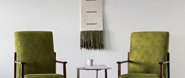 手工编织带着Gezelligheid温暖感的家居制品:KNOT living