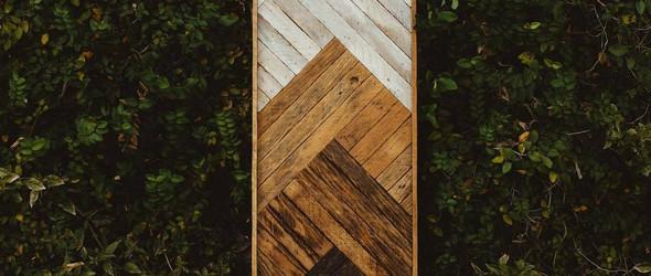 1767 Designs木工工作室 | 手工制作的木材装饰拼贴画
