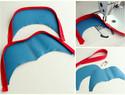 手工皮具教程 | 可爱鲨鱼造型的皮革背包制作过程