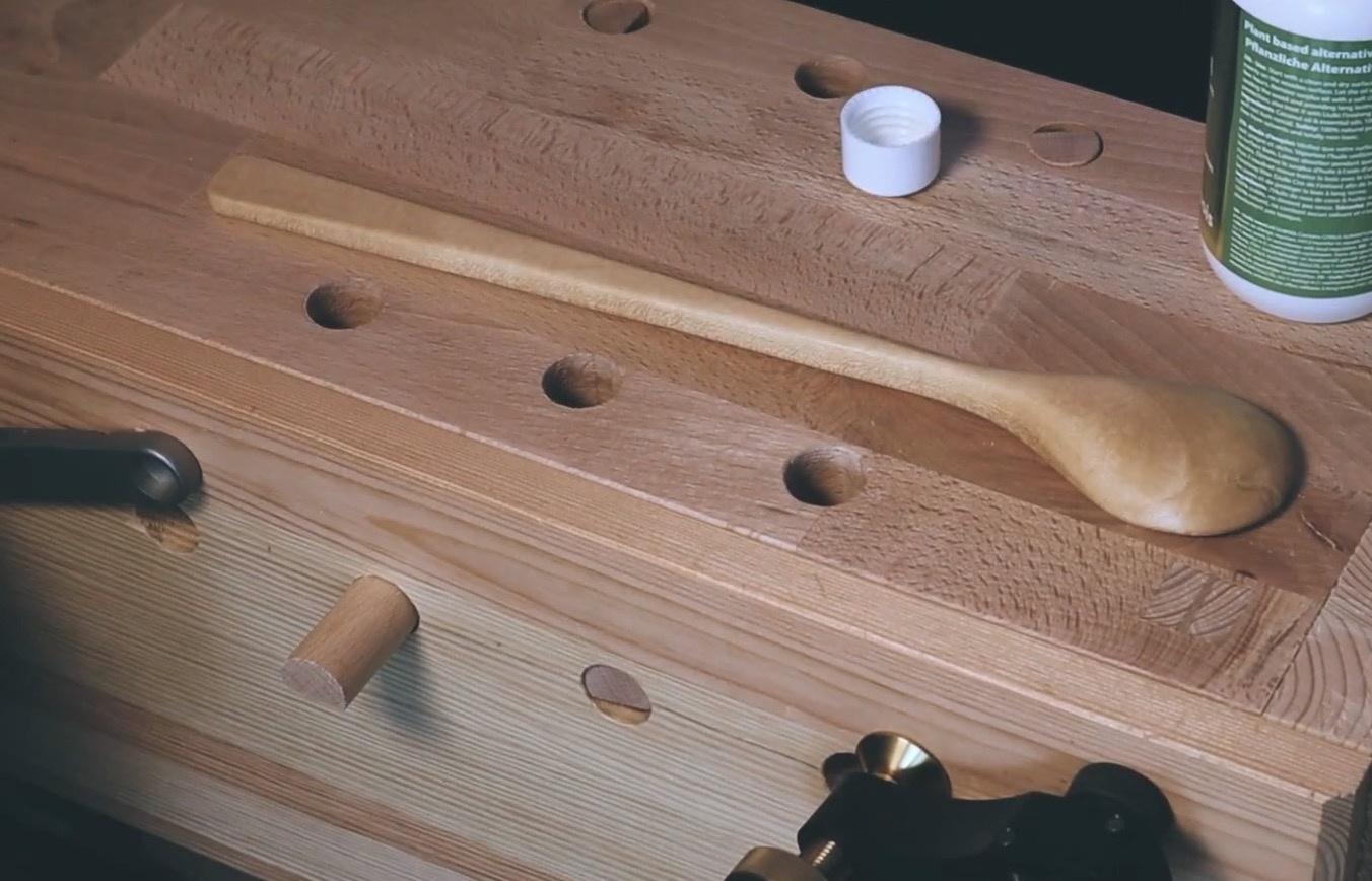 木工视频:手工制作一把木勺 / Making of a wooden spoon