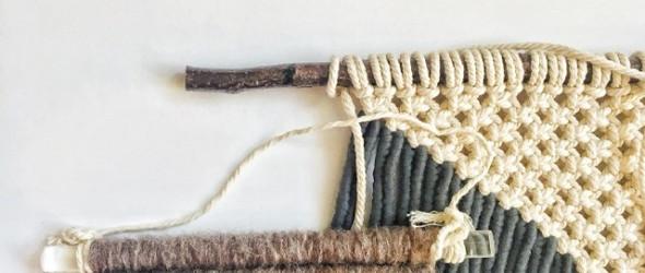 【挂毯Macrame】直杆子、圆木环...挂毯杆子们的小分享