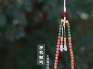 天然南红玛瑙手机链挂件中国风