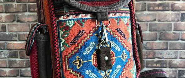 iKat地毯改造的民族风背包