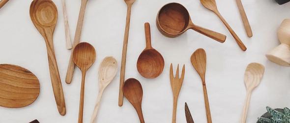 NOYNA:手工木勺与餐具