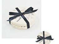 川朴艺术设计植物花卉杯垫