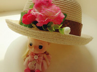 原创森系花朵清新草帽女夏天大檐遮阳卷边出游沙滩帽