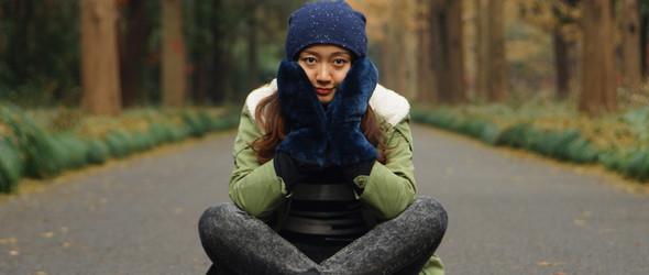 天冷送温暖——皮毛一体手套
