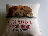汉堡系列抱枕 有狗在的房子才是家