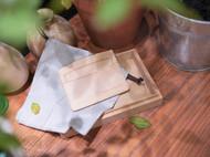 手工皮具体验 | 一枚原色植鞣基础卡包