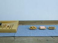梵瀚小碟子 创意餐具小吃零食茶碟日式茶托防滑实木质杯垫 隔热垫