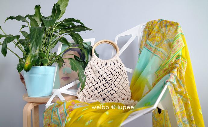 lupee | macrame藤编手挽包 适合初学者的手编材料包 DIY 挂毯