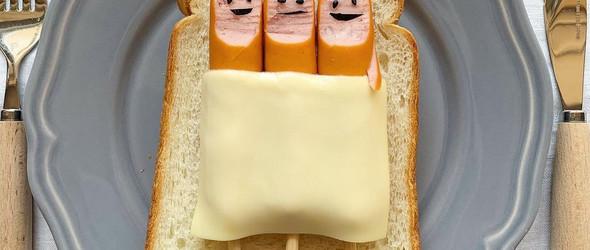 元气满满的一天,从创意的吐司面包开始  森映子(Eiko Mori)