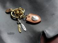 手工钥匙链组合 钥匙扣