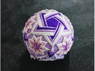【紫樱】紫色五星和粉色樱花手鞠球组合