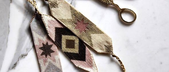 串珠,一样可以美丽而精致 | 瑞士手工艺人 Carmen Salvador 的串珠配饰作品集