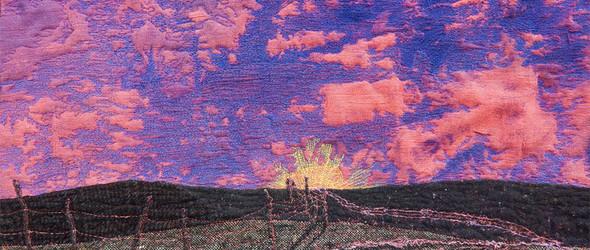 以艺术呈现草原四季之美  | 纤维艺术家Cindy Hoppe的混合媒介艺术墙挂