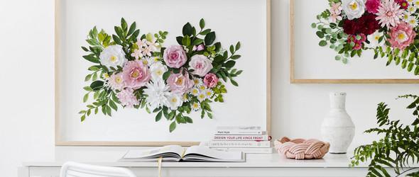 让纸片绽放艺术之花 | mondocherry