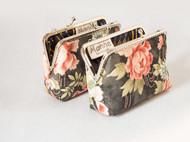 漫与手工:原创布艺复古手抓女包钥匙零钱小包包手机包杂物包
