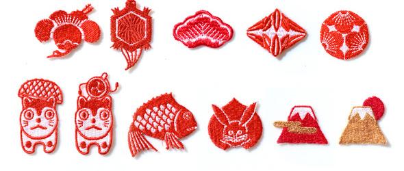 京東都 和片:可爱的刺绣小物