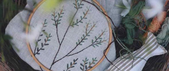 你有多爱自然,刺绣就有多么美 | Anna Tykhonova